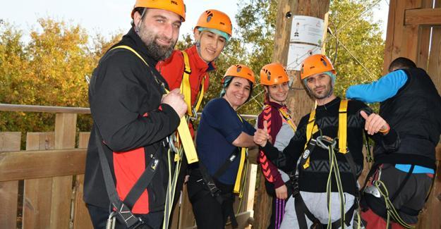 Rota Gezi Kulübü Macera Park'taydı