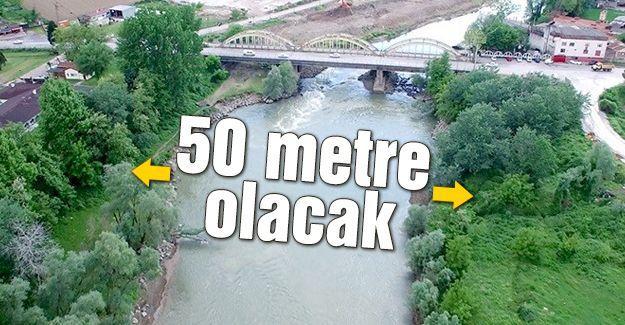 Sakarya Nehri genişliyor