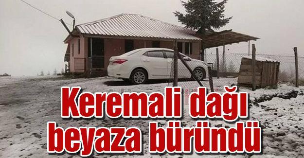 Sakarya'da yılın ilk karı Akyazı'ya düştü