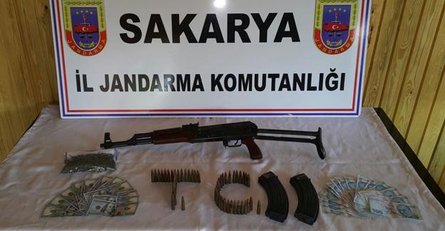 Sapanca'da operasyon