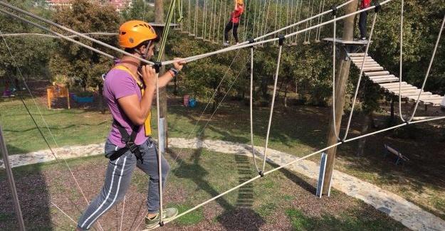 SAÜ öğrencileri Macera Park'ta eğitim alacak