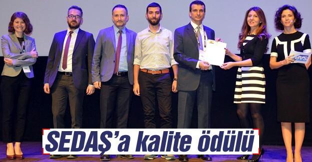 SEDAŞ WFM projesi ile yeni bir ödül daha aldı