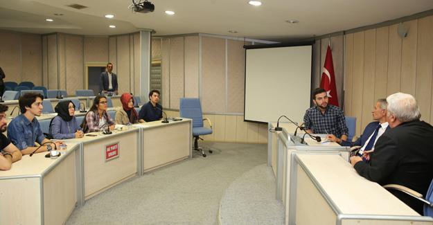 SOBİFT'li gençler meclise katıldı