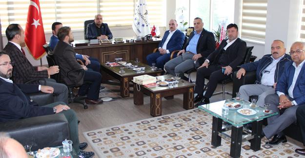 TÜMSİAD AK Parti İl Başkanı Fevzi Kılıç'ı ağırladı