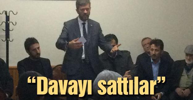 Ahmet Aya pancar üreticileri ile bir araya geldi