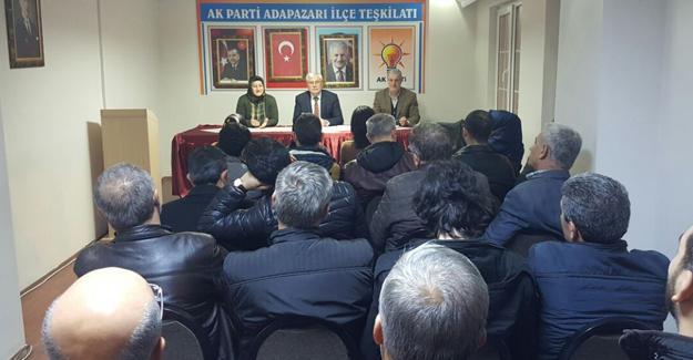 AK Parti Adapazarı'nda diş sağlığı konuşuldu