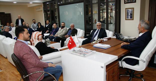 AK Parti İlçeden Dişli'ye ziyaret