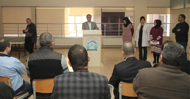 Başkan Akcan'dan velilere TEOG semineri
