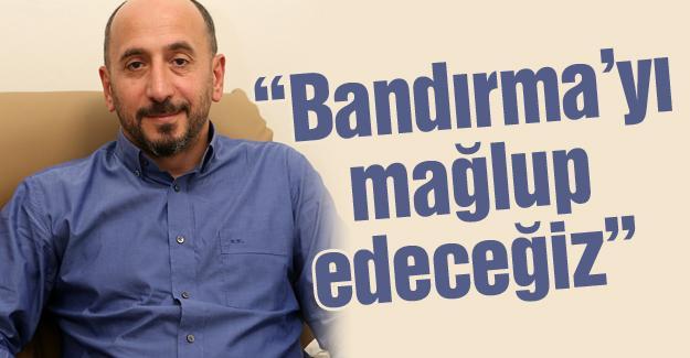 Büyükşehir Basket'in konuğu Bandırma
