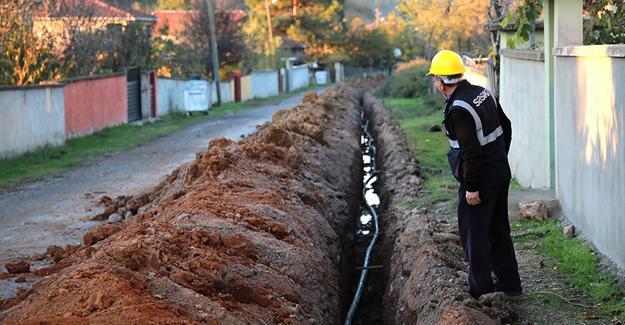 Hacıkışla'ya yeni içme suyu hattı