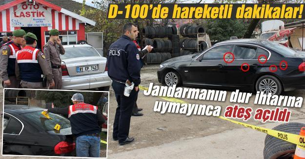 Kaçan şahıslara Jandarma ekiplerince ateş açıldı