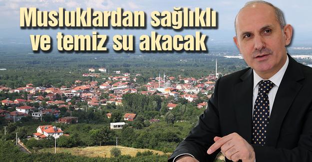 Karapürçek'in arıtma tesisi yenileniyor