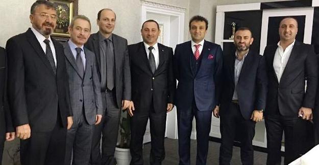 Müteahhitler Başsavcı Ercan'ı ziyaret etti
