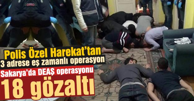 Polis Özel Harekat'tan eş zamanlı baskın