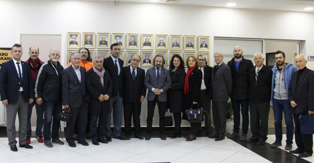 SASTOP'tan Başkan Kazan'a tebrik ziyareti
