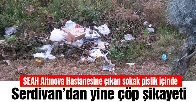 Serdivan'dan yine çöp şikayeti