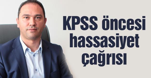 """""""Vatandaşlardan hassasiyet bekliyoruz"""""""