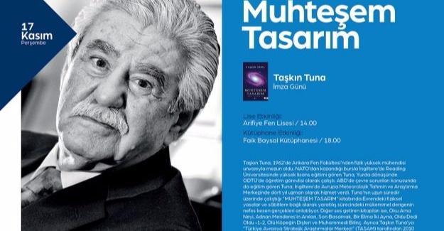 Yazar Taşkın Tuna sevenleri ile buluşacak