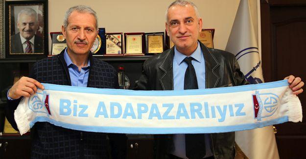 Adapazarıspor'dan Başkan Dişli'ye ziyaret