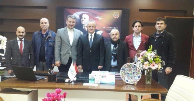 AK Parti Serdivan'dan Öğütlü'ye ziyaret