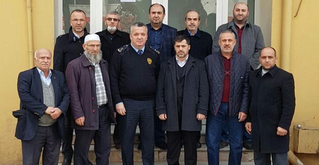 AK Parti Hendek'ten Emniyete ziyaret