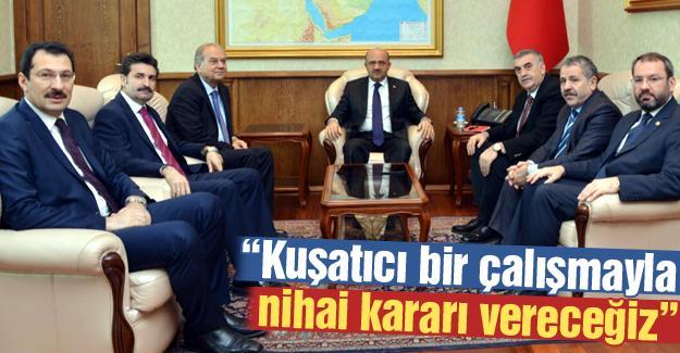 Bakan Işık askeri bölgelerin taşınmasıyla ilgili konuştu
