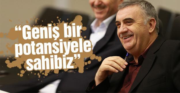 Başkan Toçoğlu, bürokratlardan bilgi aldı