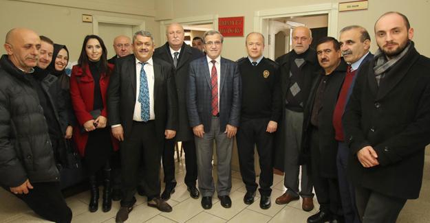 Kent Konseyinden Emniyete destek ziyareti