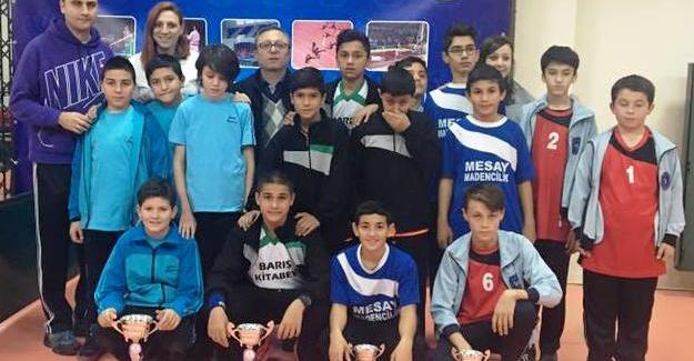 Mithatpaşa Ortaokulu Şampiyon