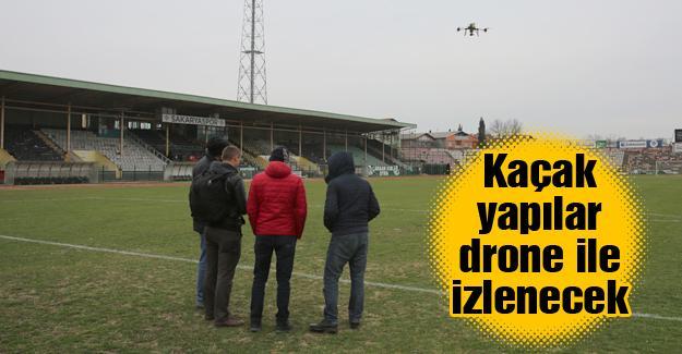 Adapazarı Belediyesi personeline drone eğitimi