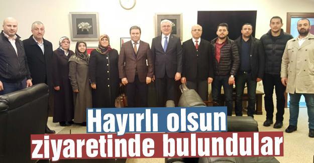 AK Parti Adapazarı'ndan, Pınarbaşı'ya ziyaret