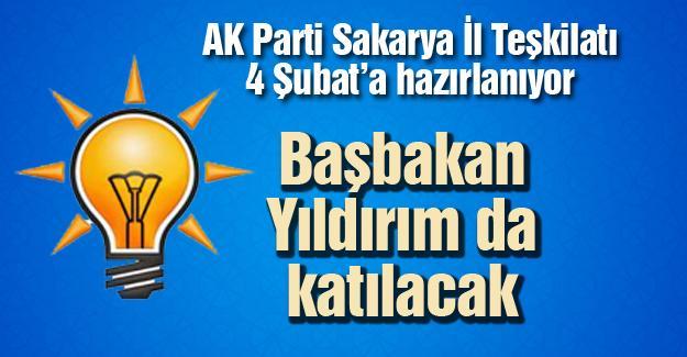 AK Parti Sakarya İl Teşkilatı 4 Şubat'a hazırlanıyor