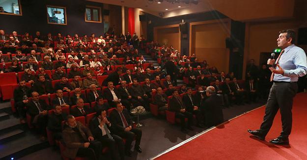 AKM'de başkanlık sistemi konuşuldu