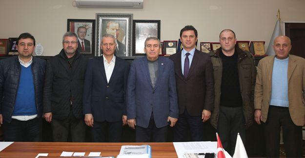 ASKF'den Başkan Dişli'ye ziyaret