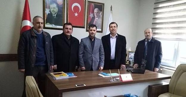 Aykol'dan, AK Parti Hendek İlçe Teşkilatına ziyaret
