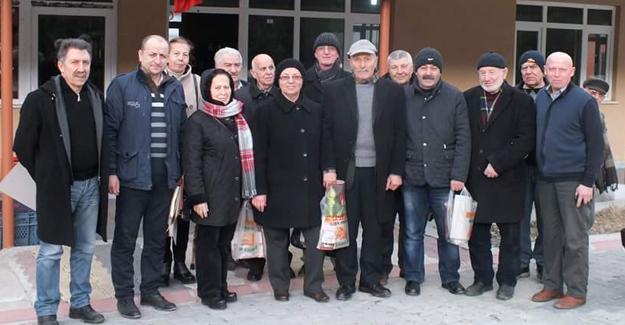 CHP'den Boğazköy Mahallesi'ne ziyaret