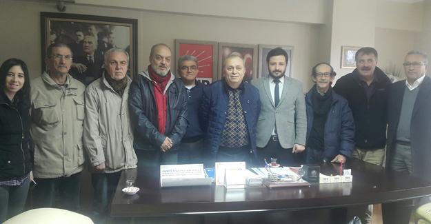 Eğitim Sen'den CHP Adapazarı'na ziyaret