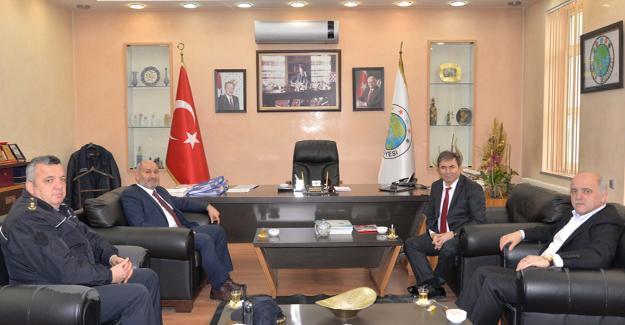 Emniyet Müdürü Pınarbaşı'ndan ziyaret
