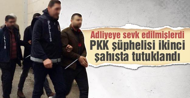 PKK şüphelisi ikinci şahısta tutuklandı