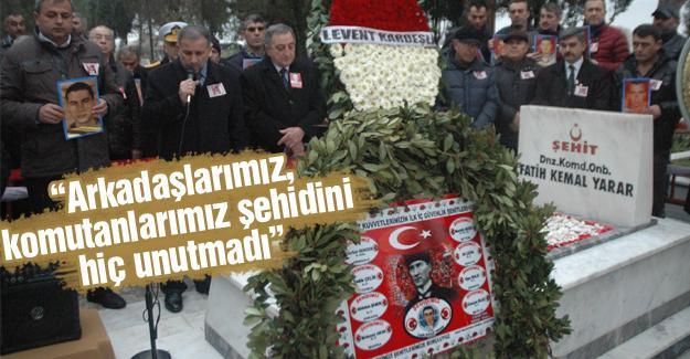 Şehit Fatih Kemal Yarar mezarı başında anıldı