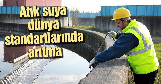 Şehrin atık su arıtma kapasitesi artıyor