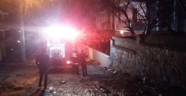 Sızıntı yapan tüp  yangına neden oldu