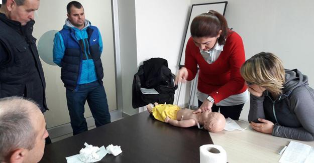 Sporda ilk yardım kursu