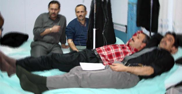 1. OSB'de 6 işçi hastanelik oldu
