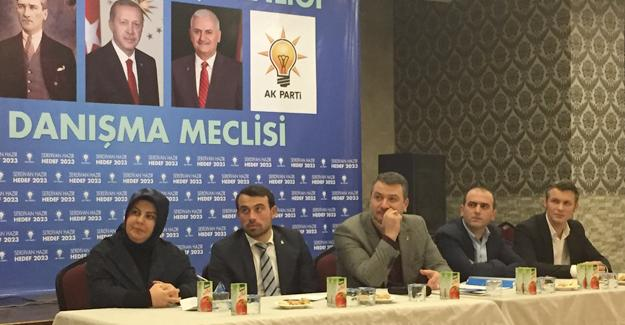 AK Parti Serdivan'dan Danışma Meclisi