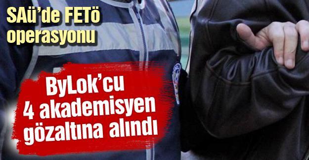ByLok'cu 4 akademisyen gözaltına alındı