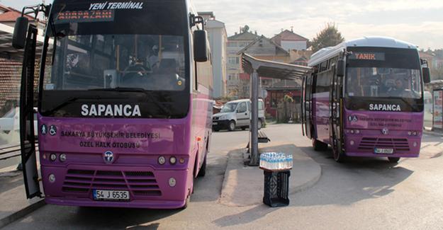 Halk otobüsü esnafına müjdeli haber