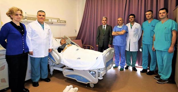 Tıp Fakültesi böbrek nakli için hazırlık yapıyor