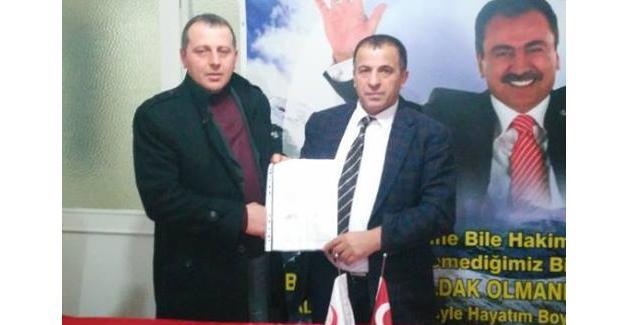 Yavuz BBP Karapürçek'e İlçe Başkanı oldu