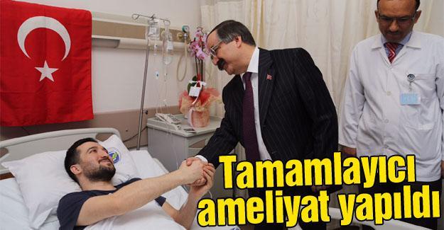 15 Temmuz gazisi Önkol'a ikinci ameliyat